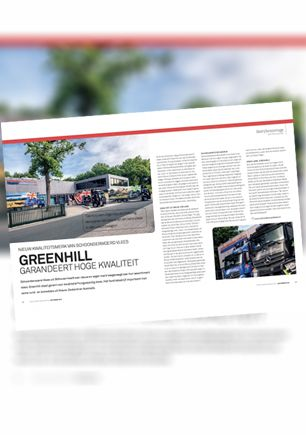 September 2018 – Greenhill guarantees high quality